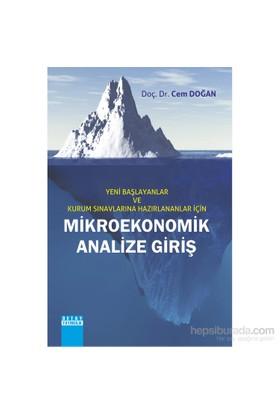Kurum Sınavlarına Hazırlananlar İçin Mikroekonomik Analize Giriş-Cem Doğan