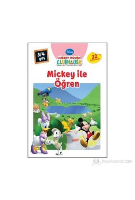 Mickey İle Öğren - (3 - 4 Yaş)-Kolektif