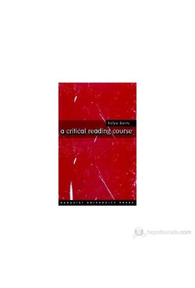 A Critical Reading Course-Hülya Bartu