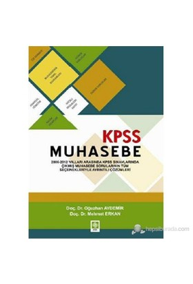 Kpss Muhasebe-Oğuzhan Aydemir