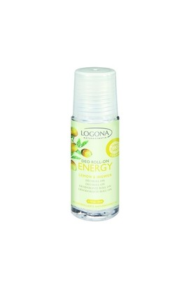 Logona Energy Deo Roll-On Limon & Zencefil