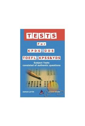 Tests For Kpds, Üds, Toefl, Kpss & Yds (İngilizce)