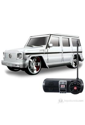 Maisto Mercedes-Benz G-Class Maisto Tech Uzaktan Kumandalı Araba 1:24 Beyaz