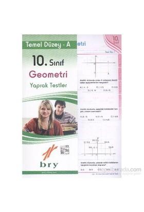 Birey 10. Sınıf Geometri Yaprak Testler Temel Düzey A-Kolektif