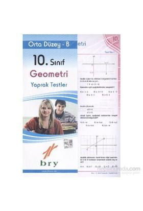 Birey 10. Sınıf Geometri Yaprak Testler Orta Düzey B-Kolektif
