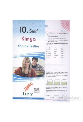 Birey 10. Sınıf Kimya Yaprak Testler-Kolektif