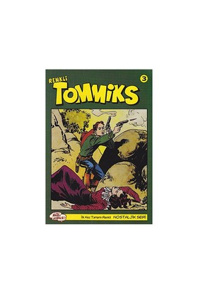 Tommiks (Renkli) Nostaljik Seri Sayı: 3 - Esse Gesse