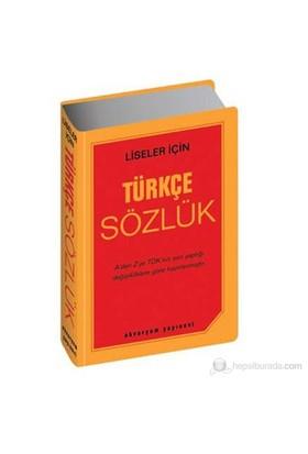 Türkçe Sözlük (Büyük Boy) (Liseler İçin)