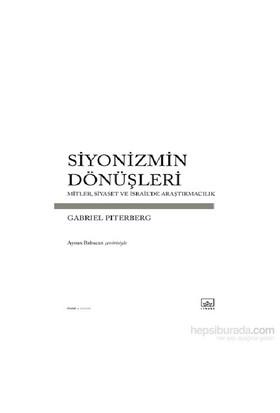 Siyonizmin Dönüşleri-Gabriel Piterberg