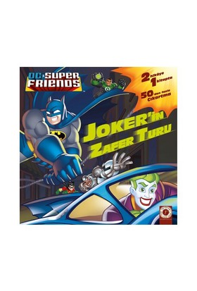 Joker'İn Zafer Turu: Hız İçin Tasarlandı (Dc Super Friends)-D. R. Shealy