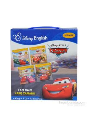 Cars Race Tıme (Arabalar Yarış Zamanı) Çantalı Set