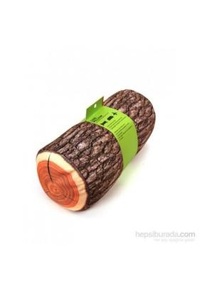 Log Wood Pillow - Kütük Yastık