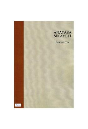 Anayasa Şikayeti - Cabir Aliyev