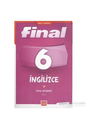 Final 6.Sınıf İngilizce Konu Anlatımlı-Kolektif