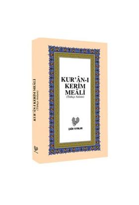 Kur'an-ı Kerim Meali Orta Boy (Türkçe Anlam)