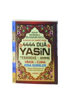 4444 Dua Yasin-İ Şerif Türkçe Okunuşlu Mealli (Çanta Boy)