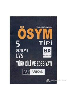 5 Deneme LYS Türk Dili ve Edebiyatı