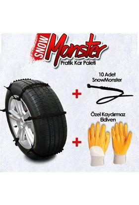 Snow Monster Pratik Kar Paleti (10 Adet) + Eldiven Hediyeli