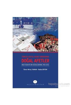 Türkiye Sosyal Hizmet Birikiminde Doğal Afetler