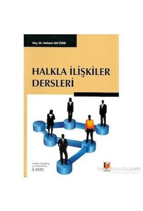 Halkla İlişkiler Dersleri-Mehmet Akif Özer