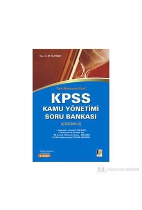 Yeni Mevzuata göre Çözümlü Kpss Kamu Yönetimi Soru Bankası - Mehmet Akif Özer
