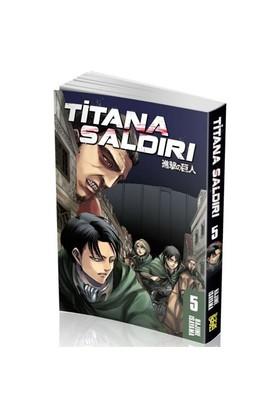 Titana Saldırı 5. Cilt Türkçe Çizgi Roman-Hajime İsayama