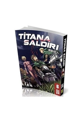 Titana Saldırı 6. Cilt Türkçe Çizgi Roman - Hajime İsayama