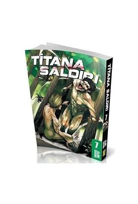 Titana Saldırı 7. Cilt Türkçe Çizgi Roman - Hajime İsayama
