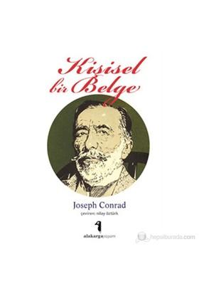 Kişisel Bir Belge-Joseph Conrad