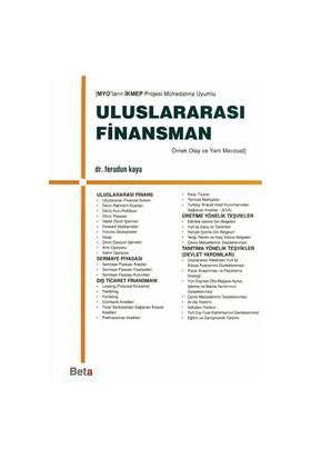 Uluslararası Finansman - Ferudun Kaya