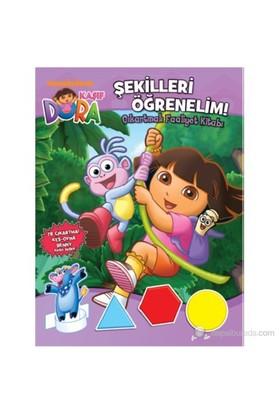Dora Şekilleri Öğrenelim - Çıkartmalı Faaliyet Kitabı-Kolektif