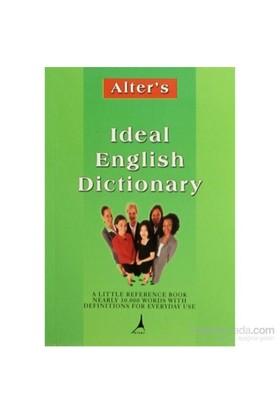 Ideal English Dictionary-Jullie Azzaoui Dinçer