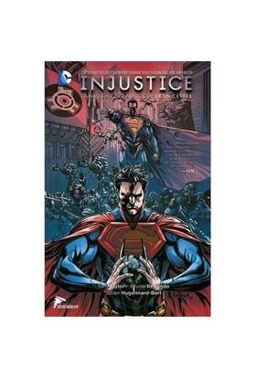 Injustice Tanrılar Aramızda İkinci Yıl Cilt 1 Türkçe Çizgi R - Tom Taylor