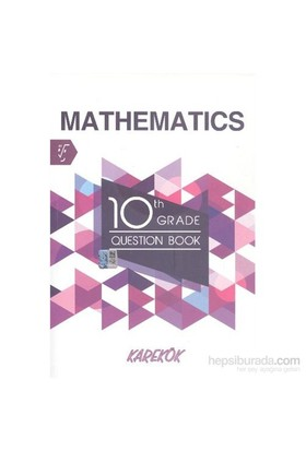 Karekök 10. th Grade Mathematics Question Book - Saadet Çakır
