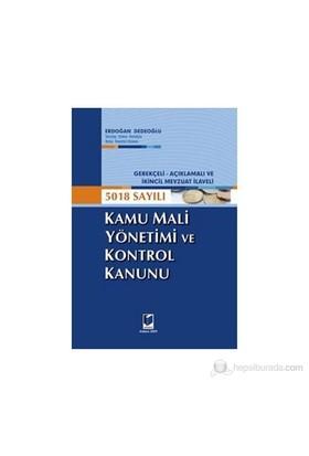 5018 Sayılı Kamu Mali Yönetimi Ve Kontrol Kanunu-Erdoğan Dedeoğlu