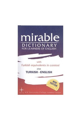 Mirable Dictionary For Learners Of English
