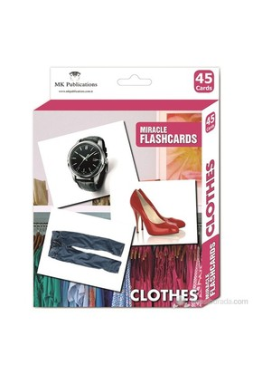 Miracle Flashcards Clothes (40 Pictures)