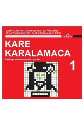 Beyin Olimpiyatları (New Age. Iq) Anadizisi Zeka Oyunları Kitapları. Kare Karalamaca 1-Ahmet Karaçam