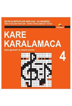 Beyin Olimpiyatları (New Age. Iq) Anadizisi Zeka Oyunları Kitapları. Kare Karalamaca 4 - Ahmet Karaçam