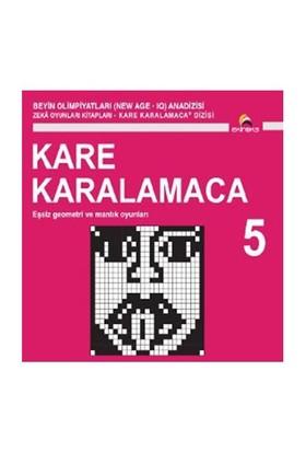 Beyin Olimpiyatları (New Age. Iq) Anadizisi Zeka Oyunları Kitapları. Kare Karalamaca 5-Ahmet Karaçam