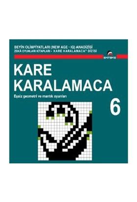 Beyin Olimpiyatları (New Age. Iq) Anadizisi Zeka Oyunları Kitapları. Kare Karalamaca 6-Ahmet Karaçam