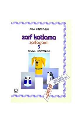 Zarf Katlama - Zarfogami 3 - Sevimli Hayvanlar