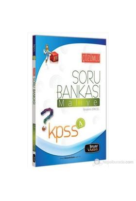 Beyaz Kalem Kpss-A Maliye Soru Bankası 2013-İbrahim Dincel