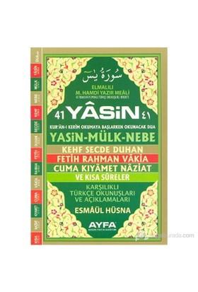 41 Yasin (Orta Boy - Karşılıklı Sayfa - Kod: 101) (Karşılıklı Türkçe Okunuşları ve Açıklamaları - Fi