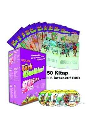 Türk Klasikleri 50 Farklı Kitap + 5 Dvd