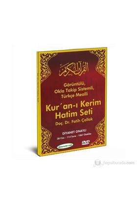 KUR'AN-I KERIM HATIM SETI VE TÜRKÇE MEALI - 1 DVD