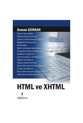 HTML VE XHTML - Osman Gürkan