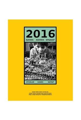 2016 Ajanda: Oyunlar-Kolektif