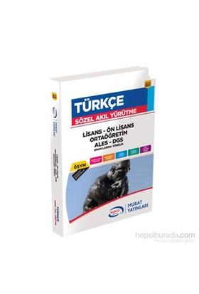 Murat Yayınları 2014 Türkçe (Sözel Akıl Yürütme)