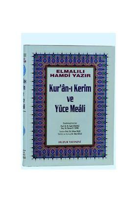 Küçük Boy Kur'an-ı Kerim ve Yüce Meali - Elmalılı Muhammed Hamdi Yazır